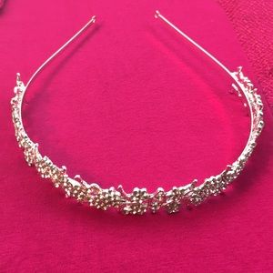 bridal head crown one size